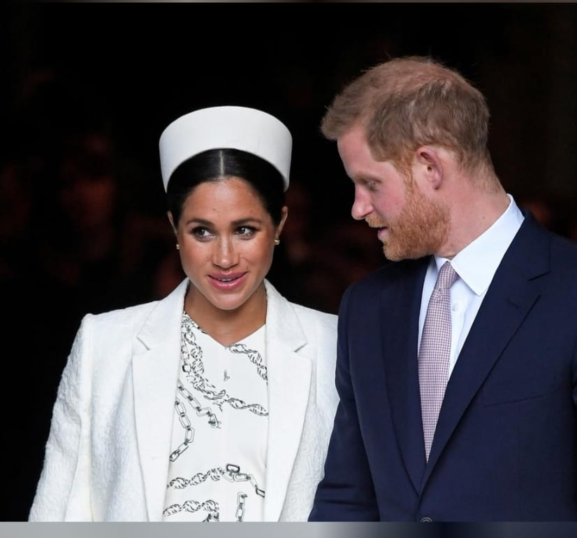 It's A Boy! Meghan, Wife Of Britain's Prince Harry, Gives